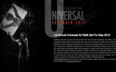 Flashback to Universal Art Walk 2010