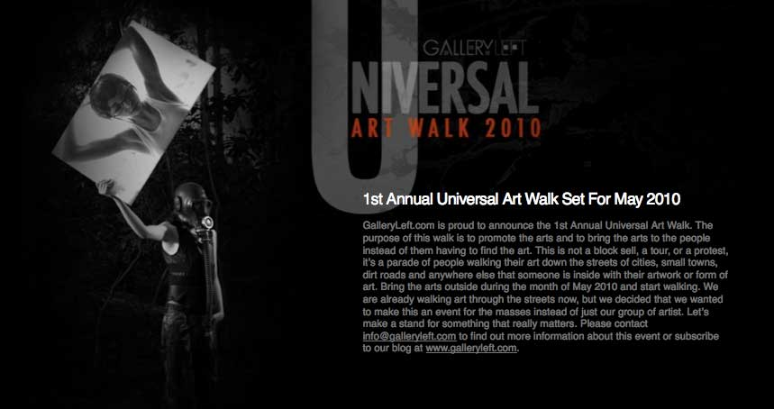 Flashback to Universal Art Walk 2010